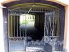 Ворота во внутренний двор дома