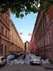 Перспектива Шведского переулка от Большой Конюшенной улицы в сторону Малой Конюшенной улицы.