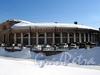 Конюшенный пер., д. 2 / наб. реки Мойки, д. 4. Здание Придворного конюшенного ведомства. Вид от Бол. Конюшенного моста. Фото март 2010 г.