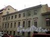 Манежный пер., д. 1. Доходный дом Часовникова (Гершельман). Общий вид корпуса по Манежному переулку. Фото март 2010 г.