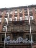 Манежный пер., д. 12. Доходный дом М. М. Рянгина. Фрагмент фасада с балконами. Фото март 2010 г.