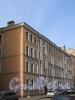 Пинский пер., д. 1 (левая часть). Фасад здания. Фото апрель 2010 г.