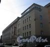 Пинский пер., д. 3 / ул. Чапаева, д. 15. Здания бизнес-центра «Сенатор». Фасад по переулку. Фото апрель 2010 г.
