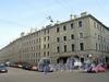Пинский пер., д. 4 / ул. Чапаева, д. 11. Фасад по переулку. Фото апрель 2010 г.