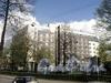 Батайский пер., д. 3, лит. А. Здание SOKOS HOTEL OLYMPIC GARDEN в саду Олимпия. Вид с Клинского проспекта. Фото май 2010 г.