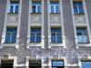 Дойников пер., д. 2. Фрагмент фасада здания. Фото май 2010 г.