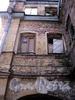 Пер. Пирогова, д. 11 (дворовый корпус). Бани №43 (б. «Воронинские бани»). Фрагмент фасада, параллельного переулку Пирогова. Фото июнь 2010 г.