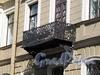 Мелитопольский пер., д. 2. Балкон. Фото май 2010 г.