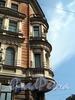 Мелитопольский пер., д. 4 / Кирочная ул., д. 30. Доходный дом Г.С. Войницкого. Угловой эркер. Фото май 2010 г.