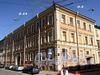 Конногвардейский пер., д. 4 (левая часть) / ул. Якубовича, д. 24. Общий вид. Фото июнь 2010 г.