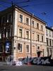 Конногвардейский пер., д. 4 (левая часть) / ул. Якубовича, д. 24. Фасад по переулку. Фото июнь 2010 г.