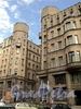 Бол. Казачий пер., д. 4. Доходный дом Н. П. Семенова. Общий вид. Фото май 2010 г.