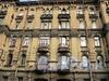 Бол. Казачий пер., д. 6. Доходный дом М.В. Захарова. Фрагмент фасада. Фото май 2010 г.