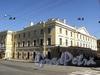 Конногвардейский пер., д. 2 / Конногвардейский бул., д. 4. Фасад по переулку и фрагмент фасада по бульвару. Фото июнь 2010 г.