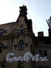 Гродненский пер., д. 1. Фрагмент фасада правого корпуса. Фото май 2010 г.