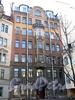 Гродненский пер., д. 2. Фасад здания. Фото май 2010 г.
