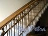 Гродненский пер., д. 5. Решетка перил лестницы. Фото май 2010 г.