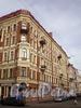 Гродненский пер., д. 12 / ул. Восстания, д. 47. Фасад по переулку. Фото апрель 2010 г.