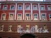 Гродненский пер., д. 15. Фрагмент фасада здания. Фото апрель 2010 г.