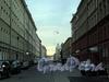 Перспектива Апраксина переулка от набережной реки Фонтанки в сторону Садовой улицы. Фото июль 2010 г.