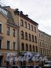 Апраксин пер., д. 10-12 (левая часть). Фасада здания. Фото апрель 2009 г.