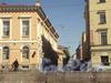 Перспектива Графского переулка от набережной реки Фонтанки в сторону Владимирского проспекта. Фото июнь 2010 г.