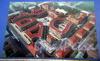 Виленский пер., д. 12. Схема расположения зданий «Парадного квартала». Фото февраль 2010 г.