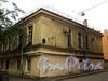 Академический пер., д. 2 / 5-я линия В.О., д. 2 (правая часть). Флигель дома фон Лоде (А. Г. Елисеева). Фасад по переулку. Фото август 2010 г.