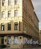 Академический пер., д. 5 / 6-я линия В.О., д. 5. Фасад по переулку. Фото август 2010 г.