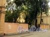 Академический пер., д. 6. Ограда участка. Фото август 2010 г.