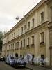 Академический пер., д. 8. Фасад здания. Фото август 2010 г.