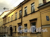 Академический пер., д. 14. Фасад здания. Фото август 2010 г.