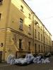 Академический пер., д. 12 / 7-я линия В.О., д. 2. Фасад по переулку. Фото август 2010 г.