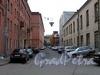 Перспектива Зеленкова переулка от улицы Смолячкова в сторону Беловодского переулка. Фото октябрь 2010 г.