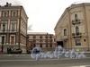 Перспектива Кричевского переулка от набережной Кутузова к Шпалерной улице. Фото сентябрь 2010 г.