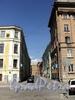 Перспектива Соляного переулка от Гангутской улицы в сторону улицу Чайковского. Фото август 2010 г.
