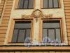 Соляной пер., д. 12. Элемент декора фасада здания. Фото сентябрь 2010 г.