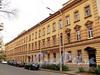 Конный пер., д. 3 / Мичуринская ул., д. 14 (правая часть). Фасад по Конному переулку. Фото октябрь 2010 г.