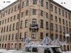 Никольский пер., д. 9 / Наб. реки Фонтанки, д. 133. Общий вид здания. Фото февраль 2011 г.
