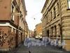 Перспектива Днепровского переулка от Академического переулка. Фото август 2010 г.