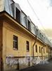 Днепровский пер., д. 1-3 / 7-я линия В.О., д. 16-18. Флигель, выходящий в Днепровский переулок. Фото август 2010 г.