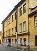 Днепровский пер., д. 7 / 7-я линия В.О., д. 12. Флигель, выходящий в Днепровский переулок. Фото август 2010 г.