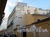 Перспектива Днепровского переулка от участка дома № 6 в сторону Академического переулка. Фото август 2010 г.