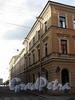 Замятин пер., д. 2 / Галерная ул., д. 19. Фасад со стороны Замятина переулка. Фото июнь 2010 г.