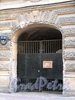 Замятин пер., д. 3 / Галерная ул., д. 21. Ворота со стороны Замятина переулка. Фото июнь 2010 г.