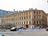 Мытнинский пер., д. 2 / ул. Блохина, д. 5. Общий вид. Фото апрель 2011 г.