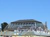 Соляной пер., д. 15. Железно-стеклянный купол выставочного зала. Вид от набережной реки Мойки. Фото июнь 2011 г.