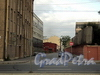 Перспектива Беловодского переулка от Выборгской набережной в сторону Большого Сампсониевского проспекта. Фото сентябрь 2011 г.