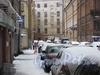 Перспектива переулка Пирогова в сторону Прачечного переулка.