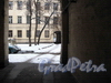Пер. Пирогова, д. 15. Вид во двор через арку. Фото 2009 г.